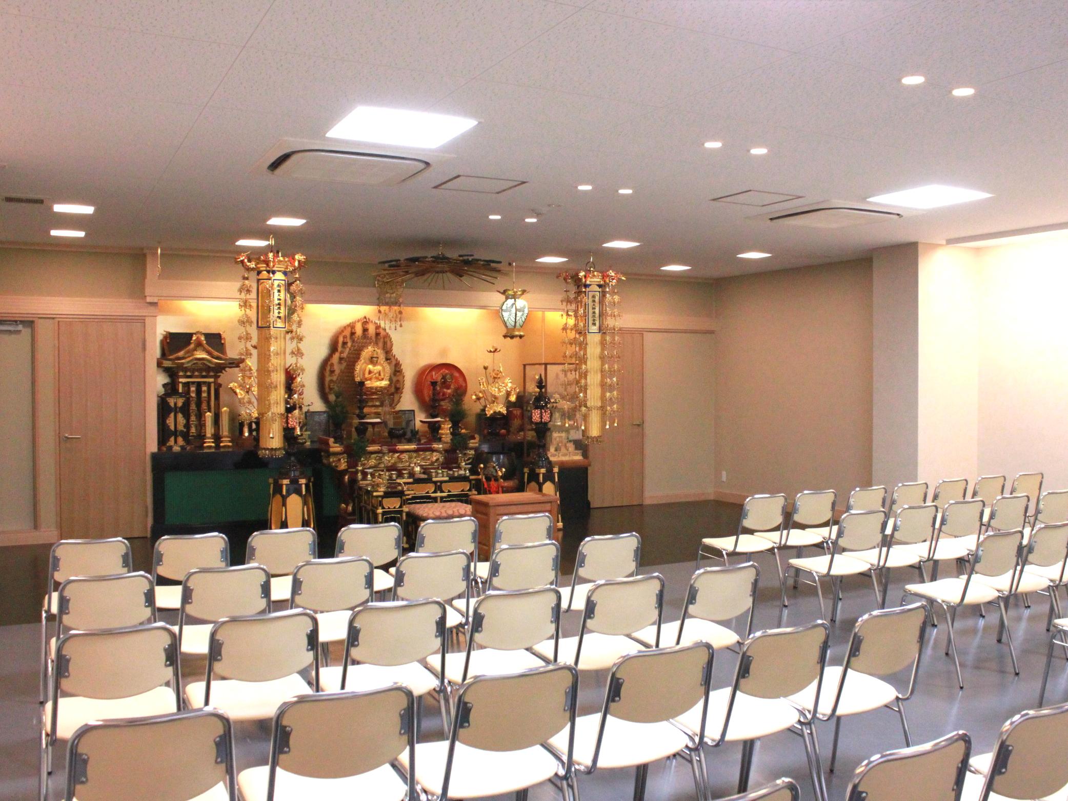 真言宗観音寺 家族葬ホール
