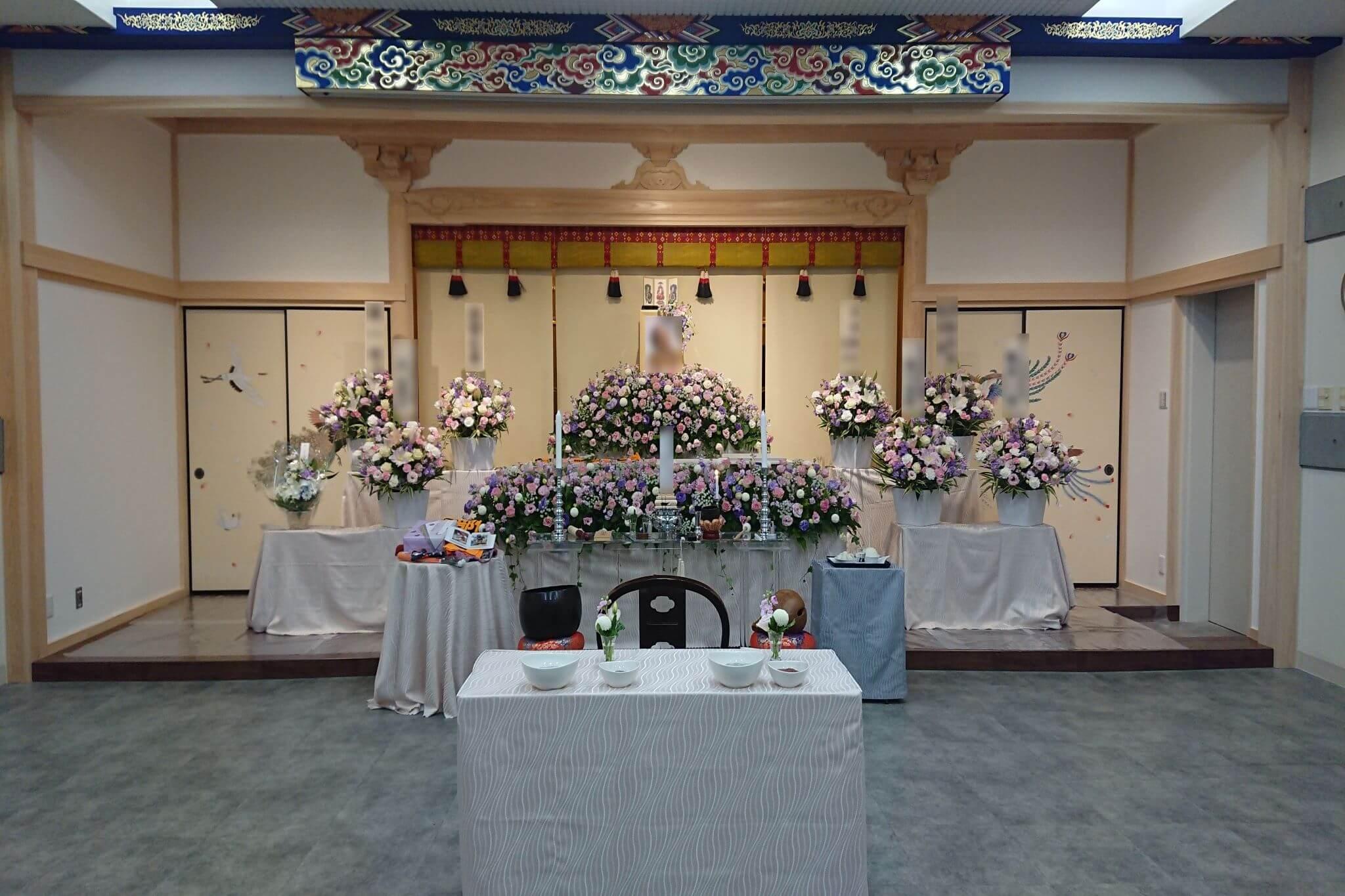 西勝寺あざみ野会館(第二本堂 法輪殿)